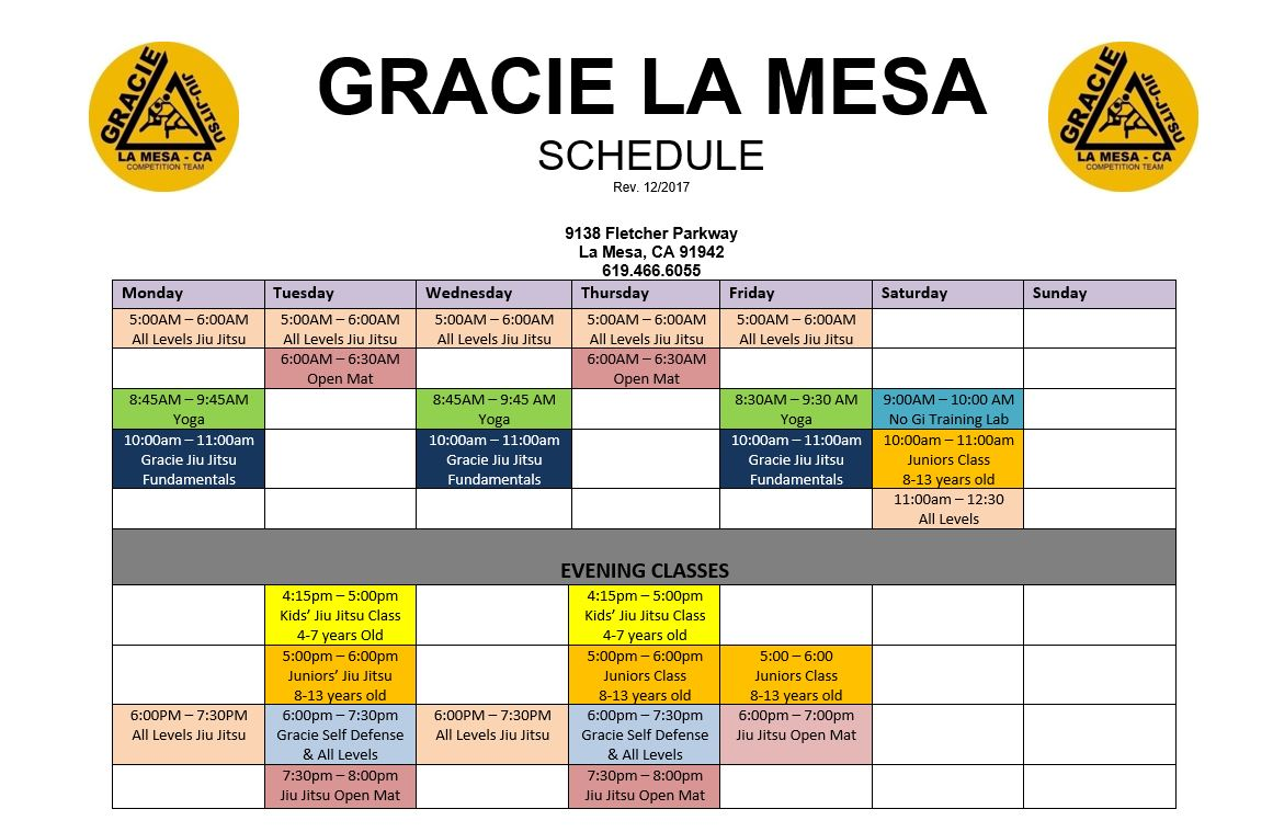 Brazilian Jiu-Jitsu Competition Rules - Gracie Jiu-Jitsu La